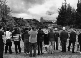 Tangiwai Memorial Unveiling 2