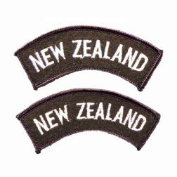 New Zealand Army Shoulder Titles