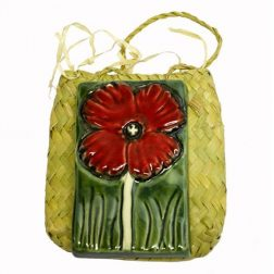 National Army Museum Commemorative Handmade Poppy Tile