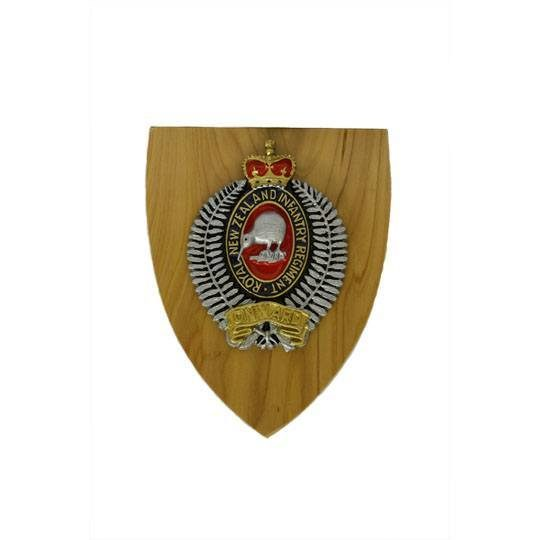 Royal NZ Infantry Plaque