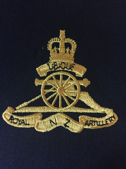 Royal New Zealand Artillery (pocket patch)