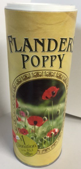 Flanders Poppy Seed Cannister