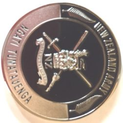 NEW ZEALAND ARMY CHALLENGE COIN