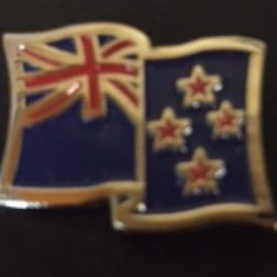 NZ Flag Badge