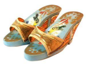 Damascene Clogs - Front