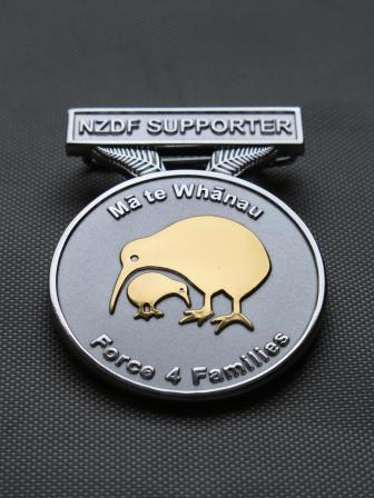 Force 4 Families Medallion