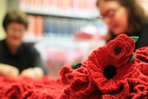 Knitted Poppy Pattern National Army Museum