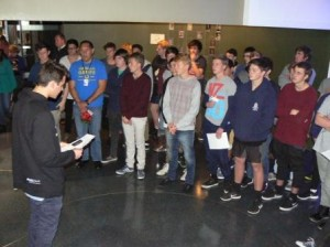 Napier Boys High School students pay tribute