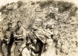 WWI Soldiers Hut