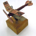 1980.5826 Model Plane, Trench Art, WWI