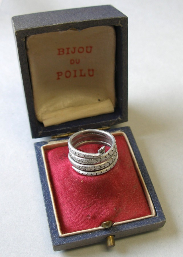 1993.1928 Ring, Trench Art, WWI